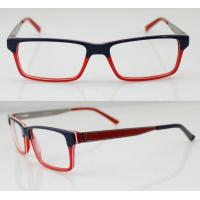 Best Fashion Women Acetate Optical Frames, Red & Black Handmade Acetate Glasses Frames wholesale