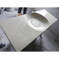 China china Artificial marble solid surface bathroom wash basin for hotel, shopping mall, house on sale