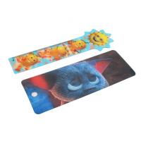 Best OK3D cheapest high quality  Plastic Lenticular Hang Tag  with string made by UV offset printer wholesale