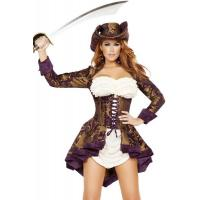 Buy cheap Exotic Marauder Womens Sexy Costumes  Indian Fancy Dress Pirate product