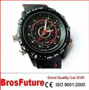 Best HD 1280*720 Waterproof G-sensor SOS Car DVR Watch Camera Resolution1280*960 wholesale