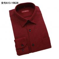 Best Wholesale men warm shirts thicken long-sleeved shirt men's plaid designer business shirts wholesale
