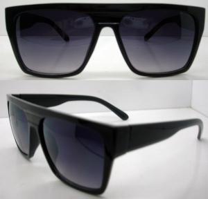 Best Retro Plastic Frame Sunglasses AC / PC Square Lens For Men wholesale