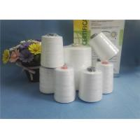 Best Eco - Friendly Raw White 100% Spun Polyester Yarn 10S/2 10S/ For Bag Closing wholesale