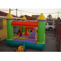 China Green Red Blue Outdoor Inflatable Bouncers Inflatable Jumpers For Kids on sale