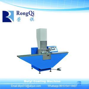 China Butyl Rubber Coating Machine/Double Glazing Glass Production Line Butyl Extruder Machine on sale