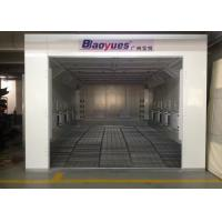 Best 6.9m Waterborne System Auto Paint Booth Infrared Heating High Efficiency For Garage Usage wholesale