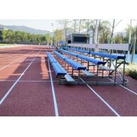 Best Indoor / Outdoor Temporary Spectator Stands With Removable Rubber Pneumatic Wheels wholesale