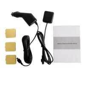 China 2.7 Inch Tft Lcd Screen 140° Dual Lens Car Dvr Black Box Video Recorder camera gps Logger on sale