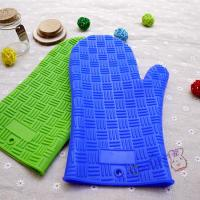 Best Hot Selling New Kitchen Non Stick Silicone Grill Gloves With Stripe Point For Bakery wholesale