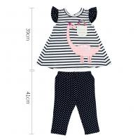Buy cheap Short Sleeve Baby Girl Clothing Sets Breathable Baby Clothes Cotton Material from wholesalers