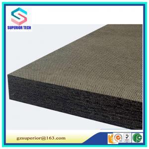 China carbon fiber felt for crystal growing furnace/solid carbon fiber felt/ regid carbon fiber felt