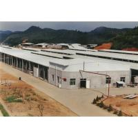 China Small Prefab Agricultural Steel Frame Buildings With Curved Sandwich Panel Roof on sale
