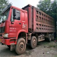 China good quality cheap howo truck Used original HOWO8X4/8X6 dump truck isuzu. forward dump truck for sale with certificate on sale