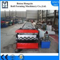 Best Automatic Floor Deck Roll Forming Machine PLC Control System 980mm Cover Width wholesale