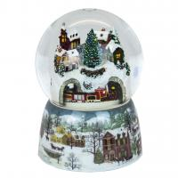 Buy cheap Customized Christmas snow globe with various size,color, style, OEM orders are from wholesalers