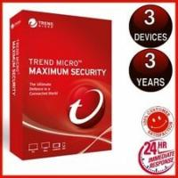 China Trend Micro Maximum Security 2019 3 PC 3Year suit for All devices digital key code only No Disc version trend 2019 on sale