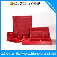 Best Luxury leather hotel supplies/hotel kettle tray set leather/hotel room set wholesale