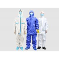 China Disposable medical isolation clothing anti-virus clothing disposable one-piece protective clothing on sale