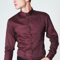 Best Comfort Slim Fitlong Sleeve Office Shirts / Business Formal Shirts For Male wholesale