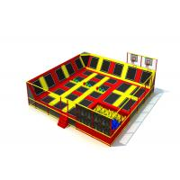 China High Safety Preschool Kids Trampoline Park For Big Site Anti Static KP190222-Z2 on sale