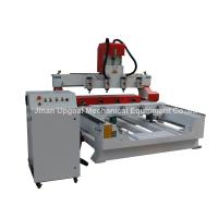 Best 4 Spindles 4 Rotary Axis Cylinder Flat Wood Carving Machine with NK105 Control wholesale
