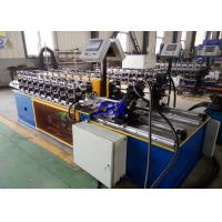 Best Full Automatical Metal Door Frame Roll Forming Machine 8-16 Working Hours Per Day wholesale