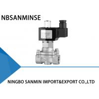 China Z7 2 Way Normally Closed Solenoid Valve Direct Acting 0 - 5 kgf / cm ² Pressure on sale