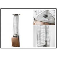 Best Stainless Steel Outdoor Gas Patio Heater Triangle Pyramid Patio Heater Remote Controlled wholesale