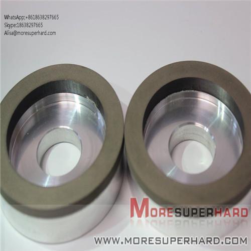 Cheap 6A2 The resin bond diamond is easy to dress the superhard diamond grinding wheel  Alisa@moresuperhard.com for sale
