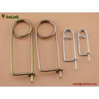 Buy cheap Carbon steel Spring Wire Coiled Tension Safety Pin, Diaper Pin Zinc Finish from wholesalers