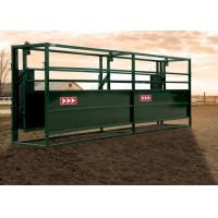 Best Popular Livestock Handling Equipment 2 Rolling Doors Cattle Working Systems wholesale