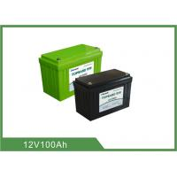 Best 12V 100Ah Bluetooth Lithium Battery for Golf Cart , Support 4pcs In Series For 48V100Ah wholesale
