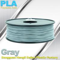 China Professional Gray PLA 3d Printer Filament , 3D Printing Consumables Material on sale