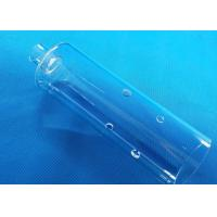 China Filter UV Quartz Glass Tube 100mm-2500mm Length SIO2>99.99% Material on sale
