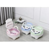 China Cow Foldable Baby Potty Training Seat , Portable Toddler Potty Seat PU Cushion on sale