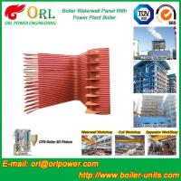 China Condensing Gas Boiler Water Wall Panels , Boiler Membrane Wall Tube on sale