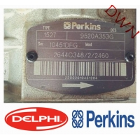 China DELPHI Perkins   9520A353G   2644C348/2/2460   Diesel Fuel Injection Pump  For Diesel Engine Parts on sale