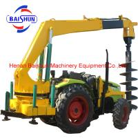 China New design deep hole drilling machine ground hole drill earth auger for sale on sale