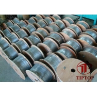 China 0.083 ASTM A269 Seamless Hydraulic Control Line Tube on sale