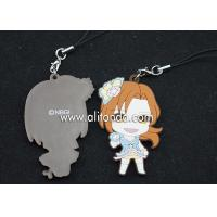 Best Cartoon figures shape pendants custom soft pvc rubber phone pendants supply wholesale