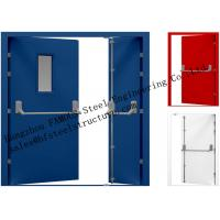 Best Galvanized Industrial Hollow Steel Fire Doors For Residential Application wholesale
