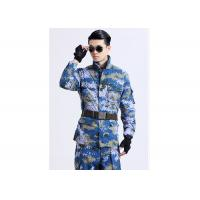 Best Multi Pocket Double Buckle Army Military Uniforms For Men Anti - Wrinkle Durable wholesale