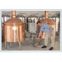 Best Industrial Fermentation Tank Small Beer Brewery Equipment Red Copper Material wholesale