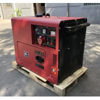 China Home Use Electric Start 5KW  Portable Diesel Generator Without Noise on sale