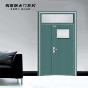 China steel fire proof door on sale