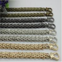 Best New product design zinc alloy snap hooks match 120 mm iron material gold chain for bag wholesale