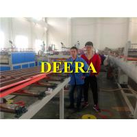 Best Corrugated Roofing Sheet Making Machine , PP Hollow Sheet Extrusion Line wholesale