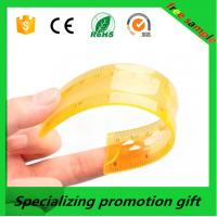 Buy cheap Colorful 10/20/30cm straight Flexible soft ruler with logo printed made in China product