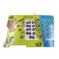 Buy cheap Professional Paper Printing Services Board Book With Puzzles Cardboard from wholesalers